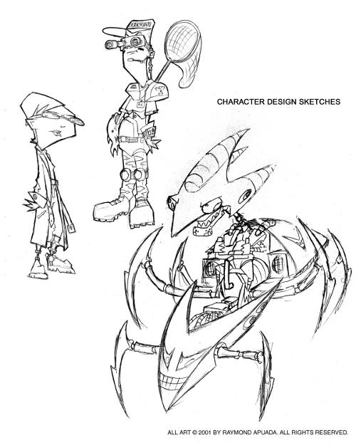 CharacterDesignPageInvaderZim3